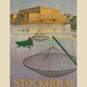 Fiskare på stockholms ström
